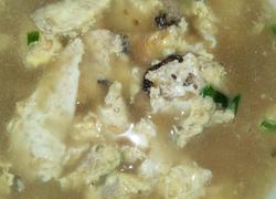 干香菇鸡蛋汤
