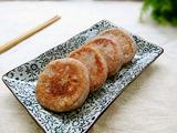 奶香紫薯馅红豆渣饼的做法[图]