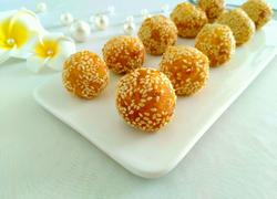 黄金球~南瓜芝麻球