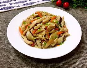 鸡肉炒香菇