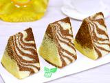 斑马纹戚风蛋糕的做法[图]