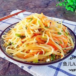 尖椒土豆丝的做法[图]