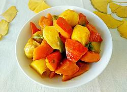 酱香南瓜炖土豆
