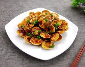 蒜香炒花蛤