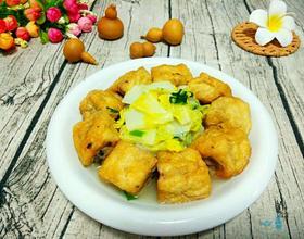 煎酿豆腐焖大白菜[图]