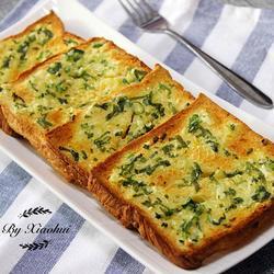 蒜香烤面包片