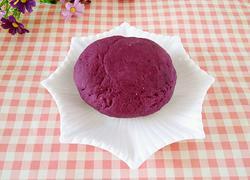 无水紫薯面团
