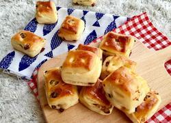 蜜红豆淡奶面包块