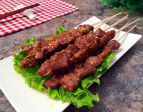 烤猪肉串[图]