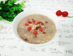 红豆燕麦仁大米粥的做法图解7