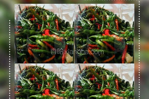 五香腌辣椒