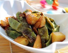 土豆燉豆角[圖]