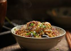 栗子香菇腊肠焖饭