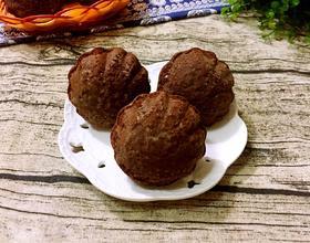 巧克力玛德琳蛋糕(玉米油版)