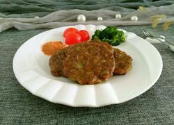 黑胡椒驴肉饼
