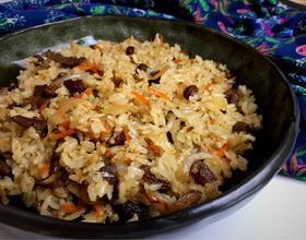 新疆羊肉手抓饭(改良简易版)