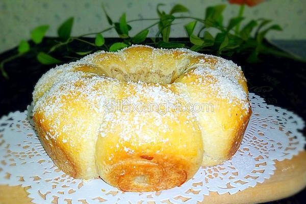 全麦椰丝面包