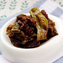 朝鲜族风味—酱牛肉辣椒
