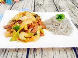 大葱酸菜炒肉丝的做法[图]