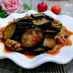 肉末油淋茄片的做法[图]