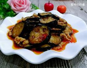 肉末油淋茄片
