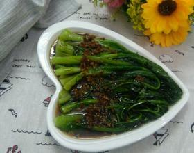 蒜茸淋油麦菜