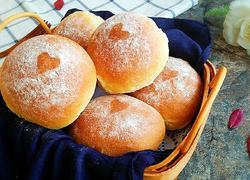 爱心玉米小面包