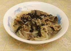 日式洋葱汤肥牛