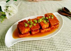 番茄汁酱豆腐块