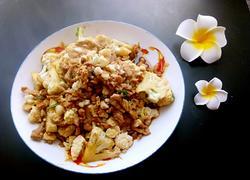 花菜炒肉丝