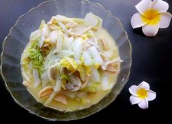 白菜炒腐竹