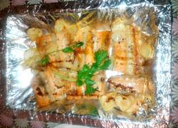 烤三文鱼排