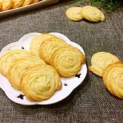 奶油曲奇饼干的做法[图]