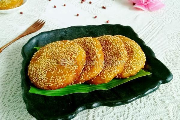 炸南瓜黍子饼