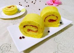 南瓜泥蛋糕卷