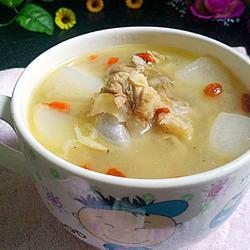 萝卜虾皮大骨汤
