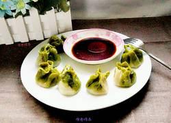 翡翠白菜蒸饺