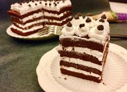 可可奶油方蛋糕