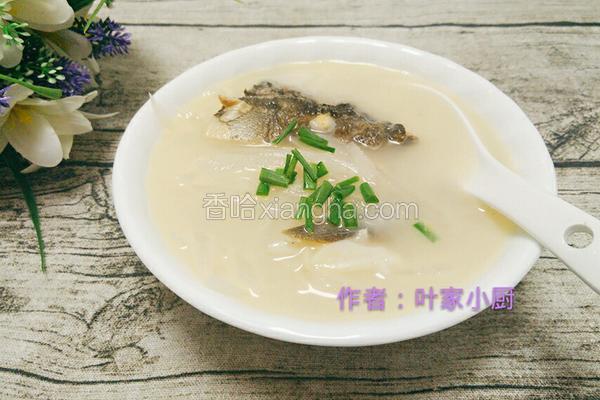 萝卜鱼头汤