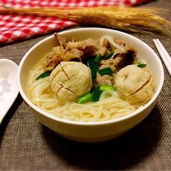肥牛肉丸汤面的做法[图]