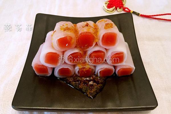 水晶萝卜珊瑚卷