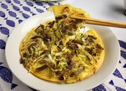 牛肉韭黄煎饼