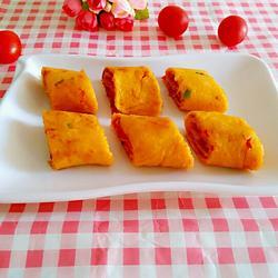 番茄鸡蛋卷饼