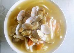 花蛤菌菇汤