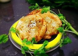 椒香葱油肉饼