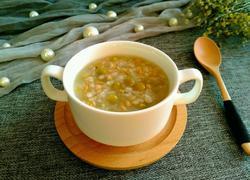 麦仁糯米豌豆盅