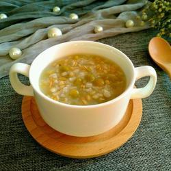 麦仁糯米豌豆盅的做法[图]