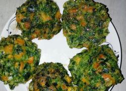 红薯韭菜饼