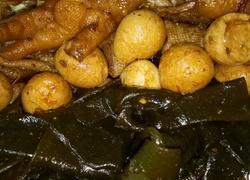 卤鸡爪海带豆皮与鹌鹑蛋