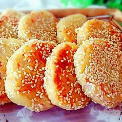 芝麻土豆饼